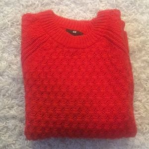 Red Cozy Sweater